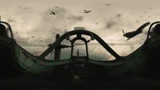 نبرد دانکرک Dunkerque به صورت 360 درجه