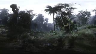تجربه ژوراسیک و دایناسورها به صورت 360 درجه