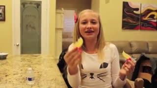 New Food Tasting With Jenna!