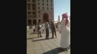شلاق زدن یک ایرانی در عربستان سعودی