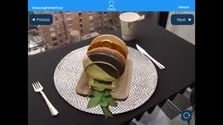 کیت AR اپل آینده سفارش در رستوران ها را تغییر خواهد داد