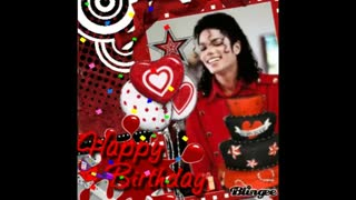 Happy birthday Michael jackson _We love you so much forever! _ تولدت مایکل جکسون