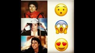 مقایسه من تو حالت های مختلف وقتی مایکل رو میبینم ...㋡㋡㋡...خخخخخ........تولدش هم مبارک ♥