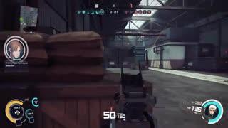 گیم پلی خودم در بازی Ghost In The Shell Online version