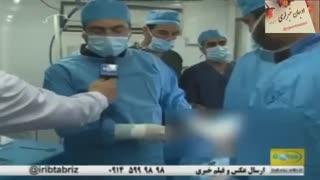 گزارش بیمارستان صحرایی  ارتش جمهوری اسلامی ایران در روستای کردکندی بستان آباد