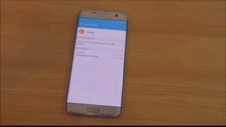 تست شارژ باتری Galaxy S7 edge درmacrotel.ir