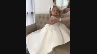 دخملم با لباس عروس^.^..