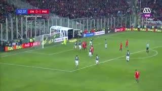 خلاصه بازی شیلی 0 - 3 پاراگوئه