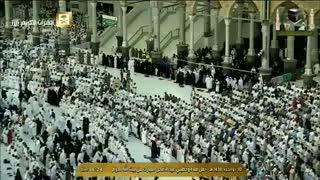 نماز عید قربان خانه خدا مکه مکرمه / 10 شهریور 1396