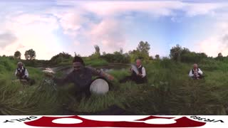 ویدیو 360 درجه از نواختن یک موسیقی گیلکی شاد