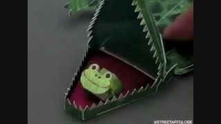 اوریگامیهای خلاقانه آقای ناکامورا