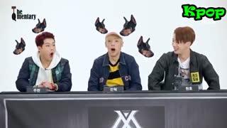 لحضات خنده دار گروه های BTS.GOT7.VIXX.Monsta x