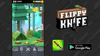 تریلر بازی Flippy Knife