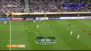 خلاصه بازی ایران 2 - 2 سوریه