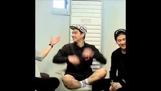 GOT7 JB vines Funny moment فانی مومنت آخر خنده از   جی بی گات سون :) همه چیز در مورد لیدری اخر خنده ۸__۷