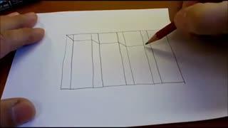 آموزش نقاشی 3D (پله)
