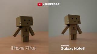 مقایسه عملکرد دوربین گلکسی نوت 8 و آیفون 7 پلاس