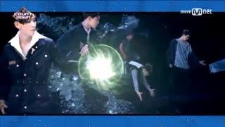 اجرای جدید اکسو power exo با کیفیت بالا-(M countdown)
