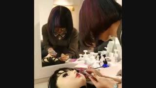 لول هاشیموتو اولین عروسک انسان نما