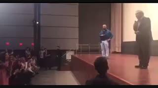 شوخی های جالب مهران مدیری با مخاطبان پردیس تماشا