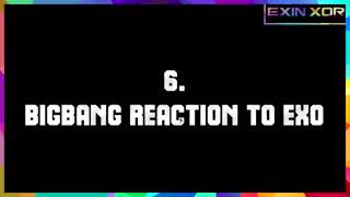 TOP 10] Idols reacting to EXO]