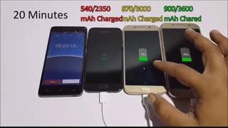 مقایسه شارژ باتری A7 2017وA5 2017وA3 2017درmacrotel.ir