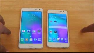 مقایسه باتری Galaxy A5وGalaxy A3 درmacrotel.ir