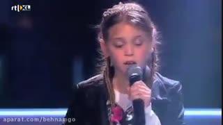 صدای فوق العاده زیبای دختربچه در برنامه استعدادیابی