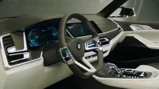 تیزر خودرو مفهومی BMW  X7