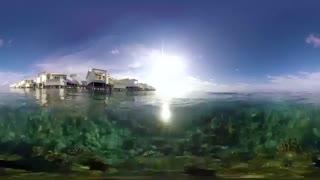 جزایر دیدنی مالدیو را 360 درجه ببینید