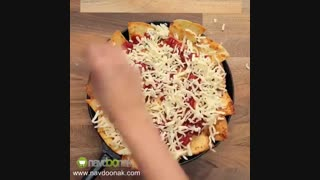 درست کردن چیپس و پنیر خانگی در 1 دقیقه