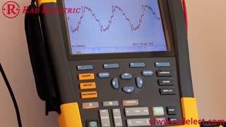 اسکوپ متر جهت اندازه گیری نویز الکتریکی شرکت فلوک Fluke