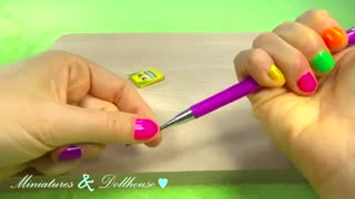 ساخت یه نوع دیگه مدادرنگی کوچولو (باربی)