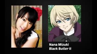 دوبلورهای ژاپنی واینگلیسی آلویس(خادم سیاه)Black Buttler