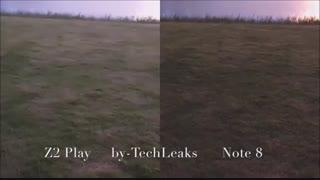 مقایسه دوربین note 8وmoto z2 playدرmacrotel.ir