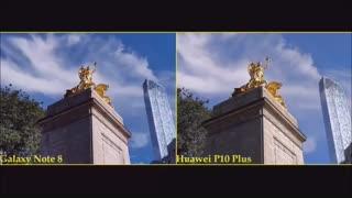 مقایسه دوربین note 8وhuawei p10 plusدرmacrotel.ir
