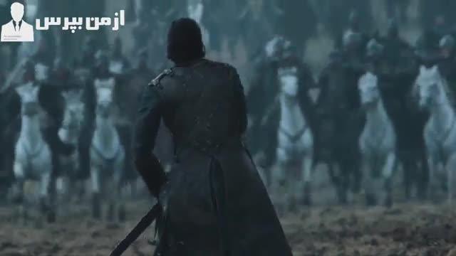 همه چیز درباره شخصیت واقعی جان اسنو ، صحنه هایی از نبرد های با شکوه و زیبای جان اسنو در سریال Game Of Thrones ...