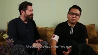 قسمت سوم سریال مردی در بکسی