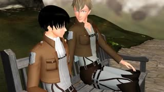 Attac on titan (mmd