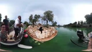 ویدئوی 360 درجه: جزیره میمون ها