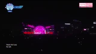 اجرای nct127  با اهنگ  Cherry Bomb در Incheon Sky Festival