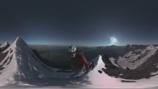 ویدئو 360 درجه - صعود به قله