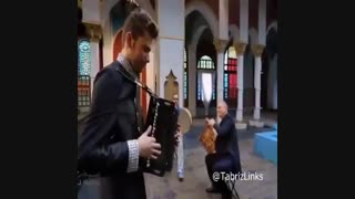گروه رستاک و اجرای آهنگ فولکلور آذربایجانی