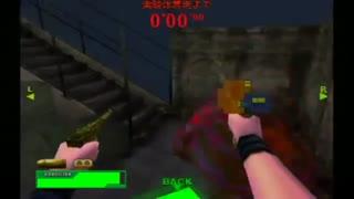 بهترین رکورد در بازی  resident evil  code veronica gun survivor 2