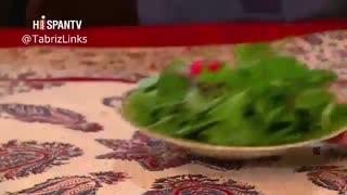 گزارش Hispan Tv اسپانیایی زبان از غذاهای سنتی تبریز