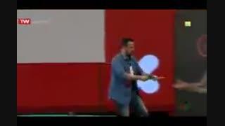 ادابازی محمد معتضدی در فینال مسابقه ادابازی