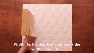 ساخت پاکتی زیبا برای هدیه به عزیزانتان