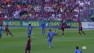 خلاصه بازی ختافه 1 - 2  بارسلونا