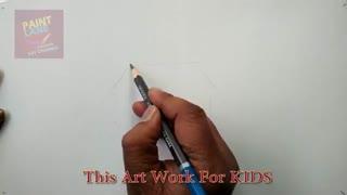 آموزش نقاشی بسیار زیبا برای کودکان