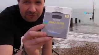 آموزش عکاسی با فیلتر ND از موج دریا